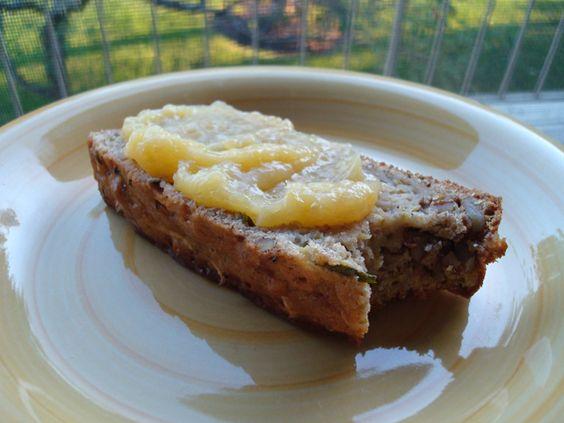 Whole Wheat Zucchini Banana Bread from @Alysha Witwicki @Shesontherun