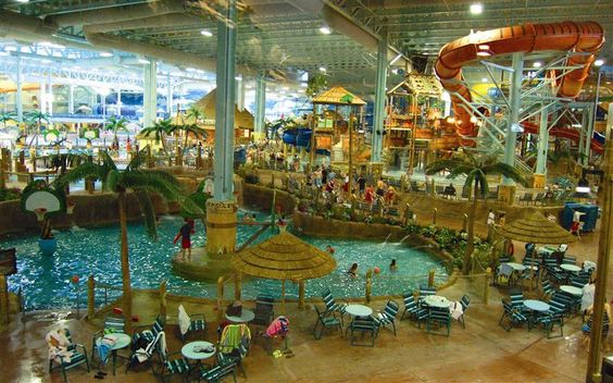 Kalahari Ohio Indoor Water Park for Pinterest