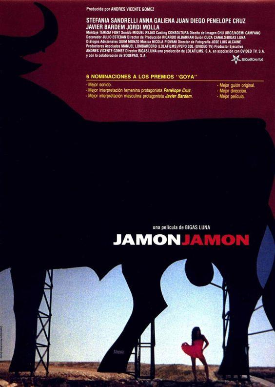 Jamón, Jamón (1992) Penelope Cruz, Javier Bardem  //  Dir:Bigas Luna