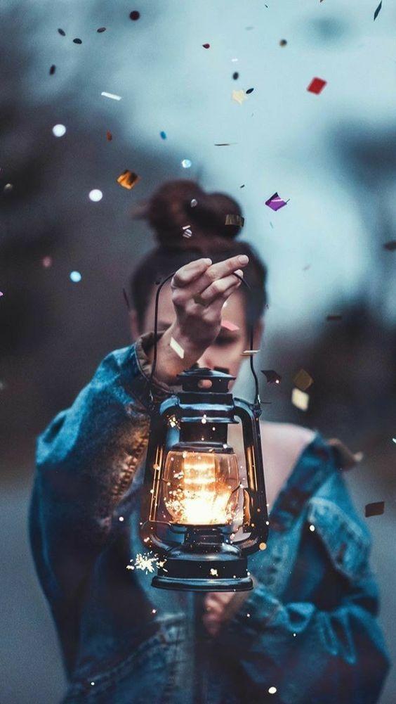 Luz Lâmpada Lamparina