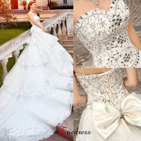 Wedding dress maybe not so long
