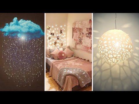 15 Amazing Diy Room Decorating Ideas For Girls Diy Wall Decor Pillows Etc Youtube Easy Room Decor Diy Wall Decor Paper Room Decor Diy room decor ideas youtube