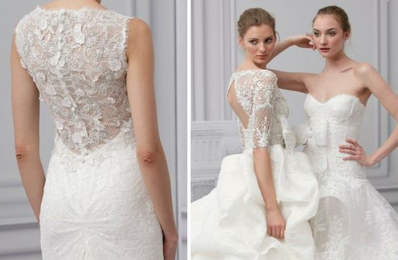 5 Jaw-droppingly gorgeous bridal gowns for the glamorous bride!  #wedding