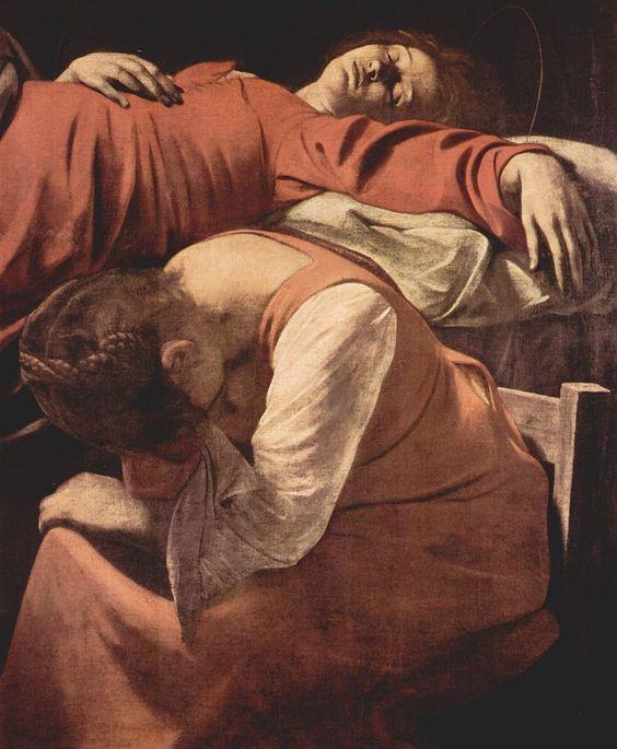 Śmierć Marii (fragment) (1601–1606)