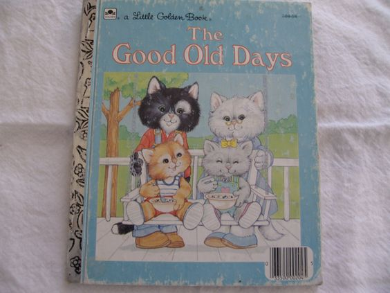 1988 Little Golden Book The Good Old Days by MonkeyBusinessBooks, $3.00