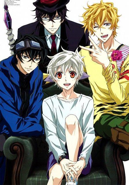 Karneval - Pretty good anime.... Pretty freaking good anime :D