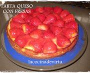 Encuentra las mejores recetas de tarta de fresas y queso de entre miles de recetas de cocina, escogidas de entre los mejores Blogs de Cocina.