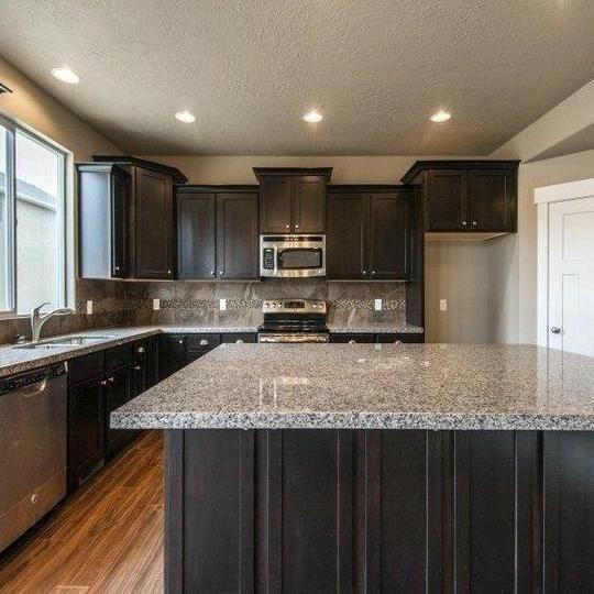 38 The Benefits Of Caledonia Granite Kitchen White Cabinets