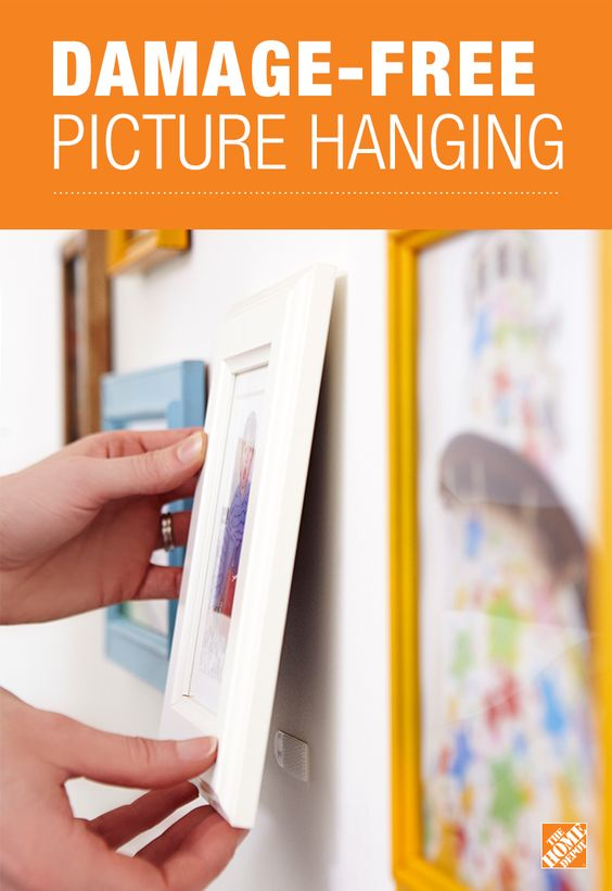Use Command Picture Hanging Strips To Create A Flawless
