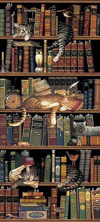 book cats by Charles Wysocki