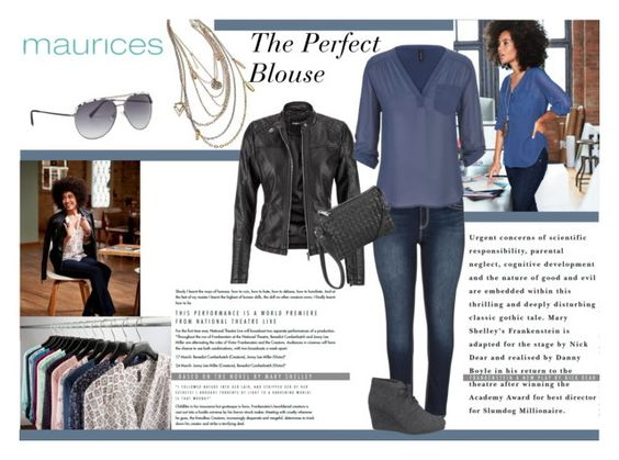 """""""The Perfect Blouse with maurices: Contest Entry"""" by manuelsbolli ❤ liked on Polyvore featuring maurices"""