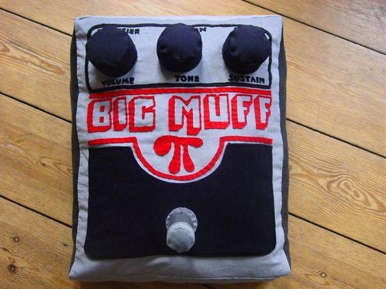 Big Muff pillow