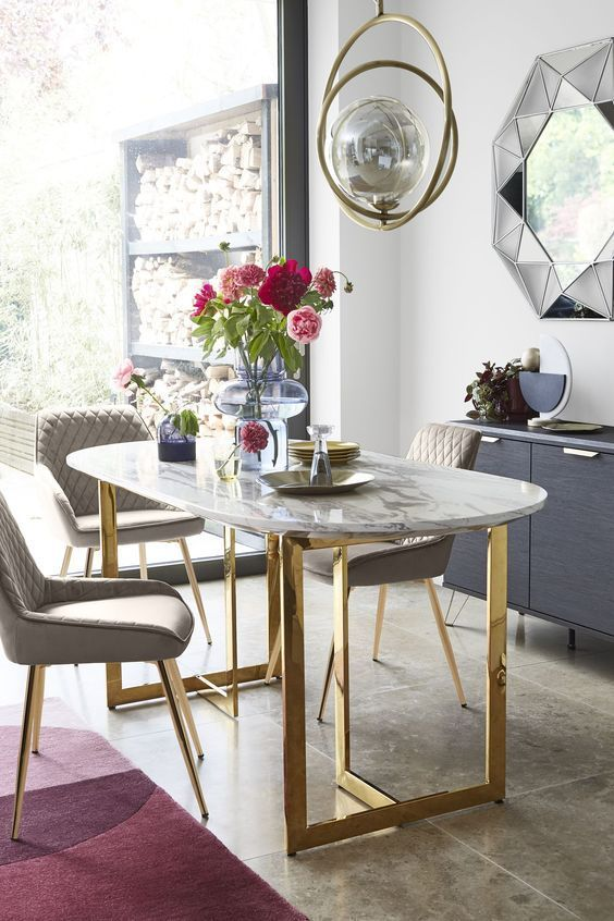 10 Key Interior Trends For Autumn Winter 2019 In 2020 Oval Table