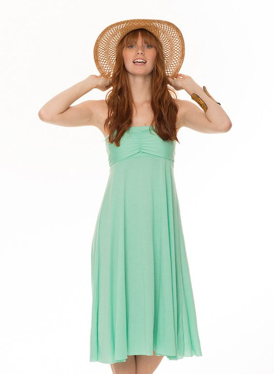 The One Convertible Dress & Skirt - Mint
