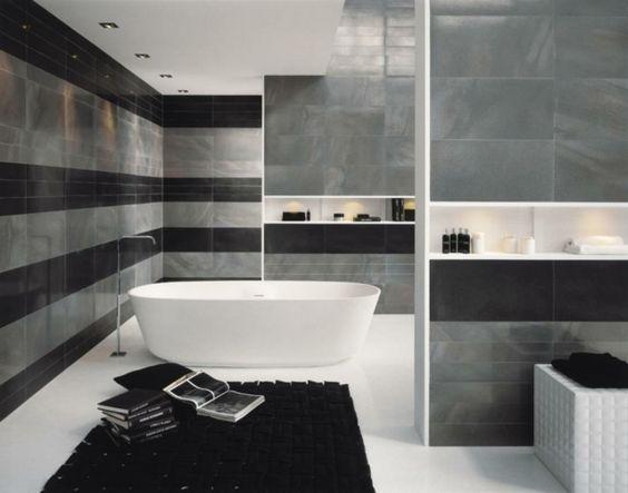 Peinture Salle De Bains Pour Agrandir L Espace Restreint Grey Bathroom Interior