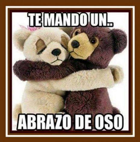 Imagenes Con Abrazos Y Besos Para Compartir En Whatsapp Imagenes Para Whatsapp Teddy Bear Hug Teddy Beer Good Day Quotes
