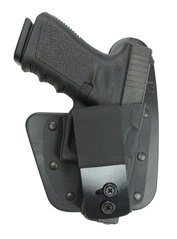 The RapidTuck holster is an inside the waistband (IWB) hybrid holster that's handmade with premium leather and molded Kydex® to fit perfectly to your gun. Provides the comfort of a hybrid holster with a smaller size. The RapidTuck series is designed to be worn IWB. Whether you like to carry in the 3:00 – 5:00 o'clock position with or without forward cant, appendix carry or even cross draw… The RapidTuck holster does it all and is proudly made right here in the USA!