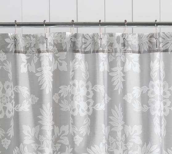 Lana Print Shower Curtain With Images Printed Shower Curtain