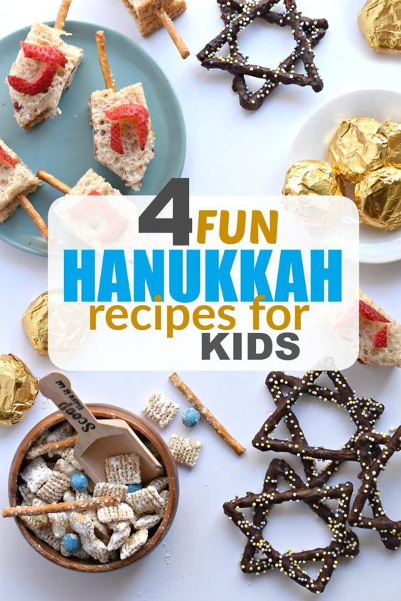 Hanukkah Recipes for Kids - Fork and Beans