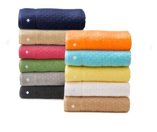 kate spade larabee dot bath towels: