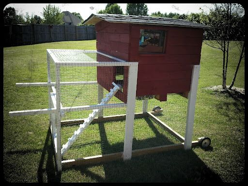 One o' these days....I'm gettin' some chickens !!  Chicken Coop from Pallets