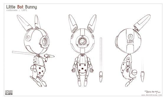 Blender Character Modeling Template : Http cgcookie blender files littlebotbunny