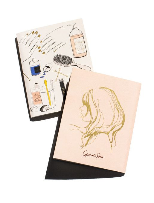 Beauté Pocket Notebook Set by Garance Doré.