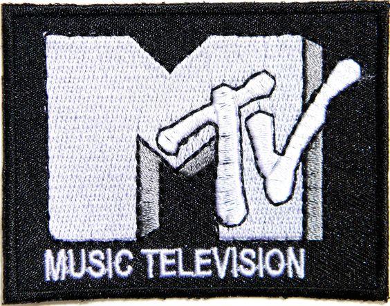 MTV MUSIC TELEVISION Band Logo Jacket T-shirt Patch Sew Iron on Badge Sign Costum