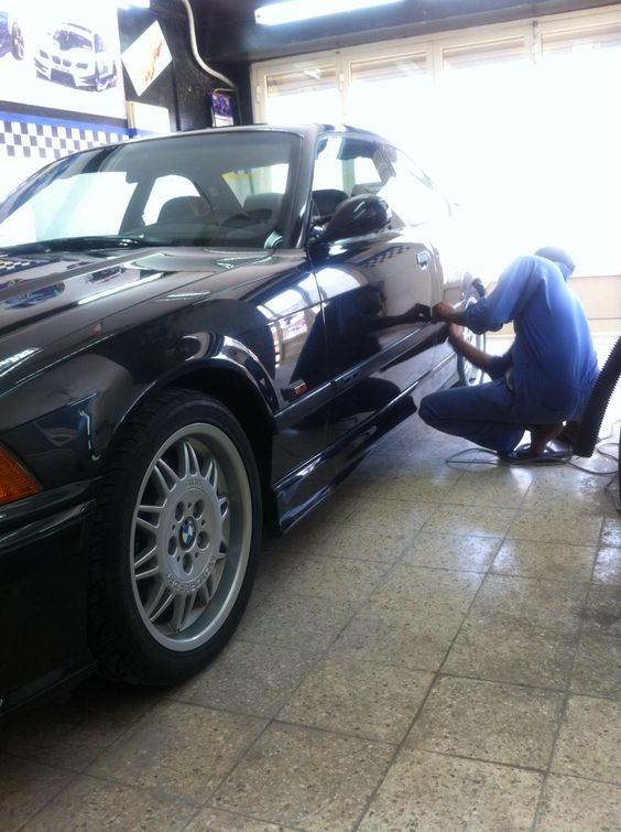 Waxing my M3 E36