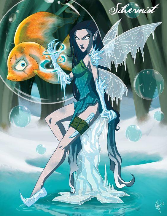 Twisted Fairies: Silvermist by jeftoon01.deviantart.com