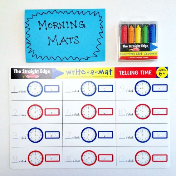 Morning Activities Before School - love these ideas!!