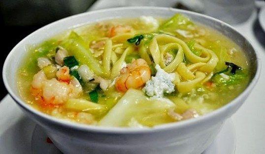 Pancit Lomi Recipe Panlasang Pinoy Recipes Soup Dish Egg Noodle Dishes Asian Recipes