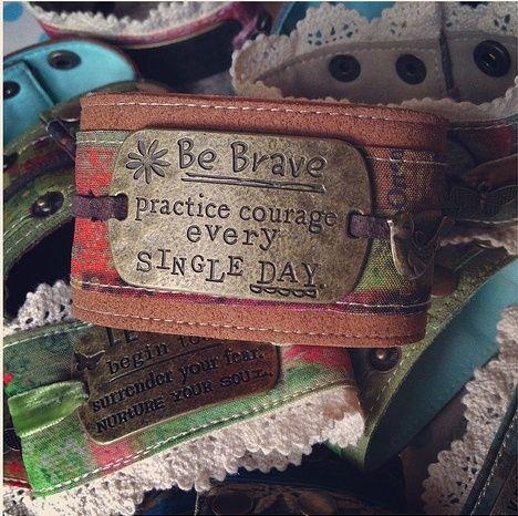 Be Brave cuff bracelet. We ship! https://www.facebook.com/riverroadpharmacyandgifts