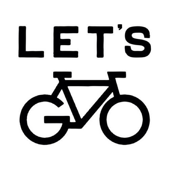 Let's go by mr @letsgocouchman #typeverything #lettering #type #typography #bike
