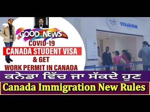 Canada Visa New Policies 2020 2021 Study In Canada Student Visa Ir In 2020 Student Visa Study Abroad