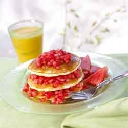 Watermelon-Stacked-Breakfast-Pancakes