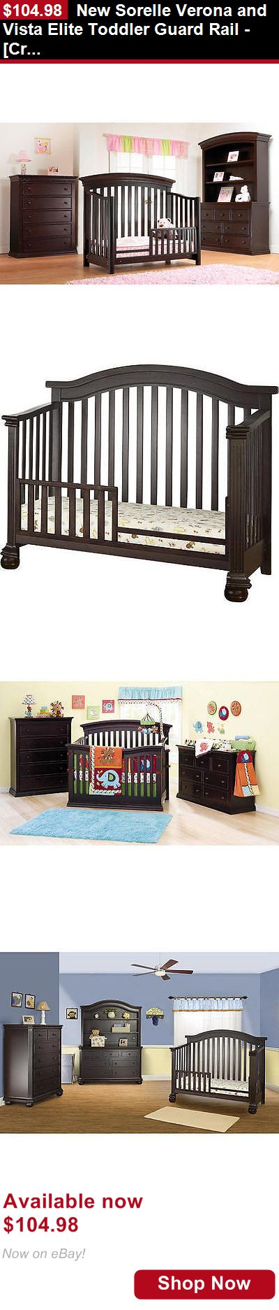 Nursery Furniture Sets: New Sorelle Verona And Vista Elite Toddler Guard Rail - [Crib Not Included] BUY IT NOW ONLY: $104.98