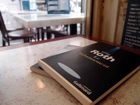 """""""Le rabaissement"""" de Philip Roth au café / janvier 2014"""
