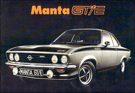 Opel 1975 Opel Manta Cars Classic Cars