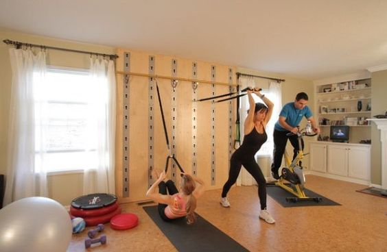 Smart wall training system offers a compact home gym for Home gyms small spaces
