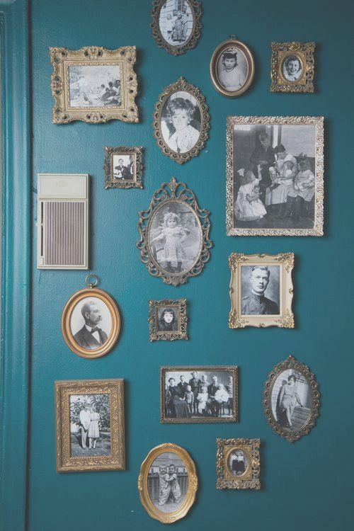 30 Amazing Family Picture Wall Decorating Ideas In 2020 Gallery Wall Vintage Frames Wall Gallery