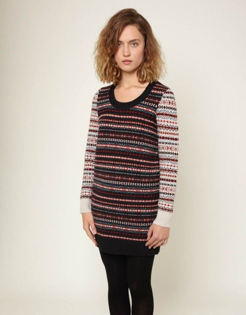 Fairisle Dress - You Must Create (YMC)