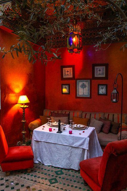 salon marocain - Decoration Triate Du Salon Beldi