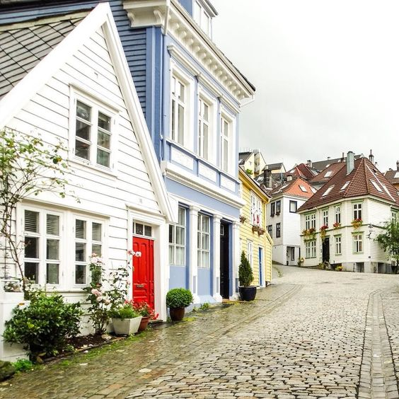 Bergen Norway's Second City and the Gateway to the Fjords. Photo by @kellytrlt on Instagram.