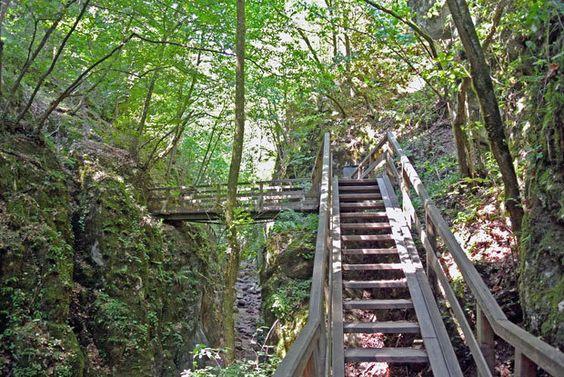 Treppen Johannesbachklamm