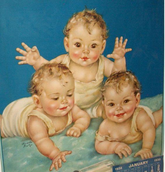 Charlotte Becker Art of Babies