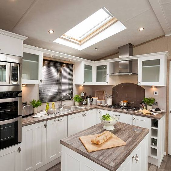 Knightsbridge Static Caravan Kitchen