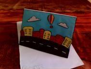 bonne voyage #card