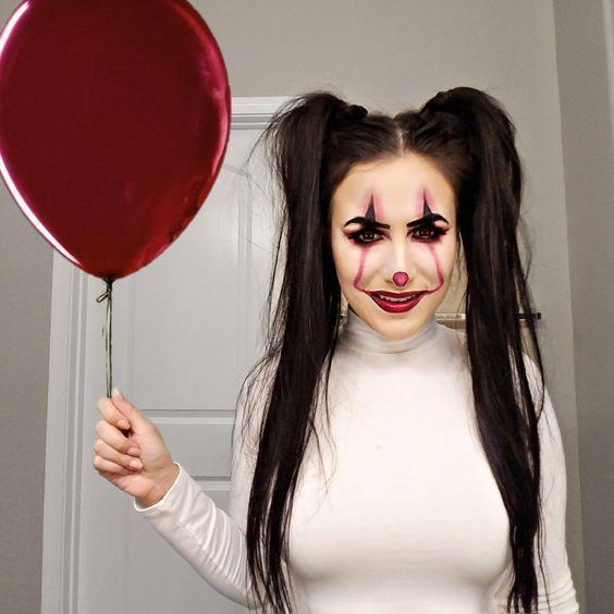 Halloween Weekend 2020 Uber Halloween Make up Looks Schrei Über   Pennywise, #Halloween