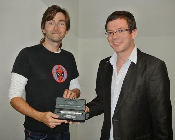 As we've previously reported, The Wand Company, in partnership with the BBC, has created a universal remote control based on the Tenth Doctor's sonic screwdriver. David Tennant loaned his personal sonic (an actual prop which was gifted to him upon his exit from Doctor Who) to The Wand Company to create the universal remote.  On Sunday at the ...